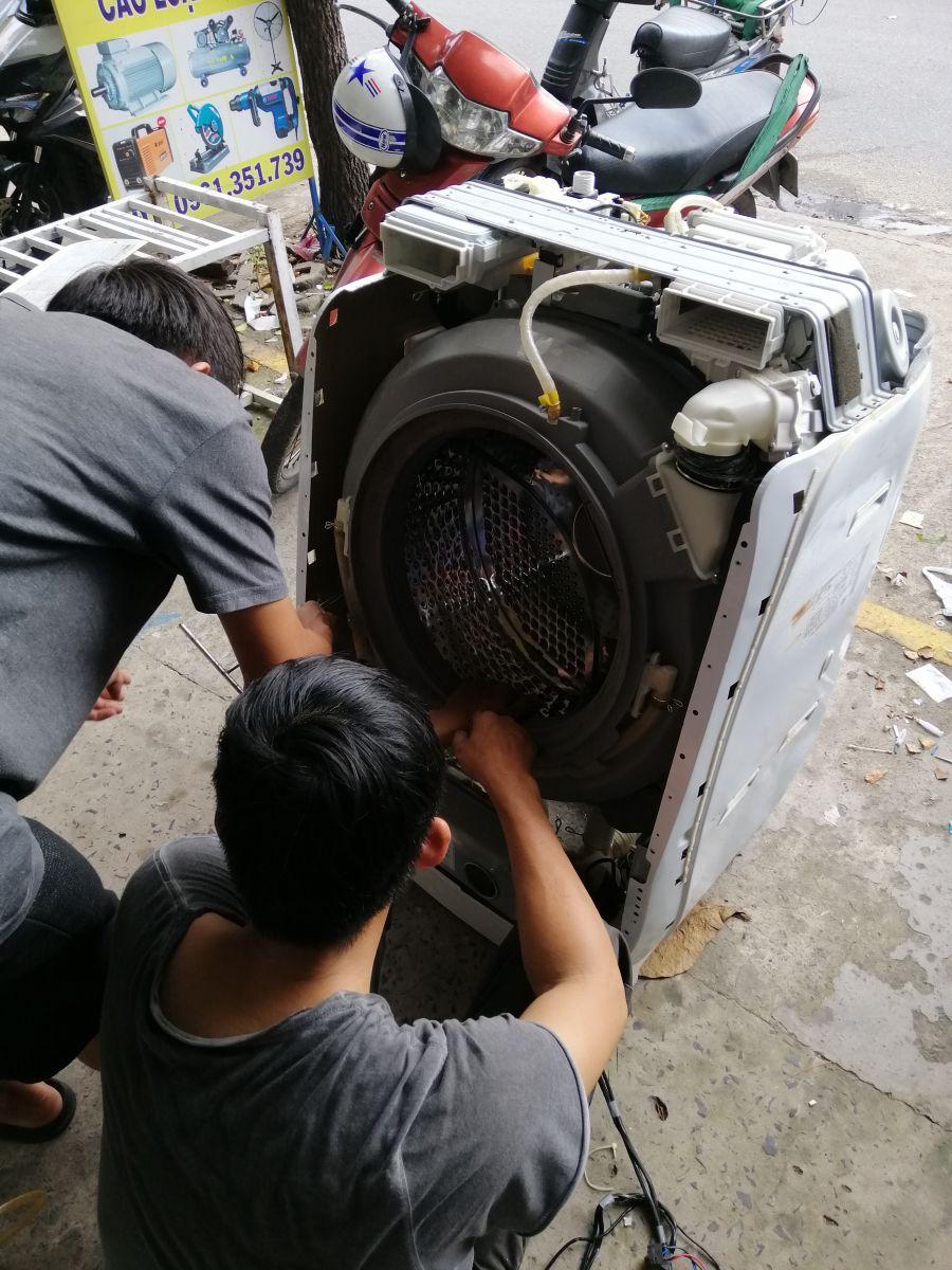 sửa máy giặt tân bình