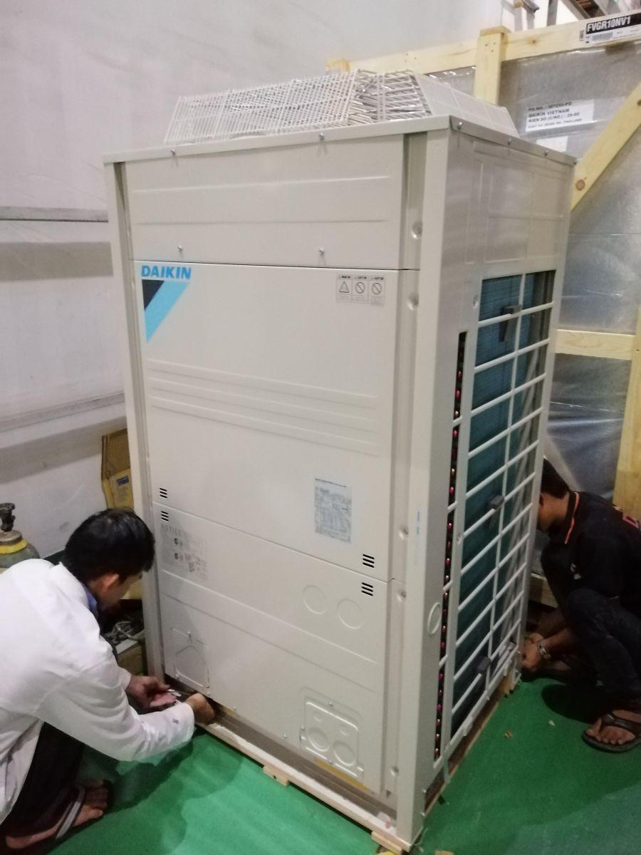 lắp máy lạnh công nghiệp