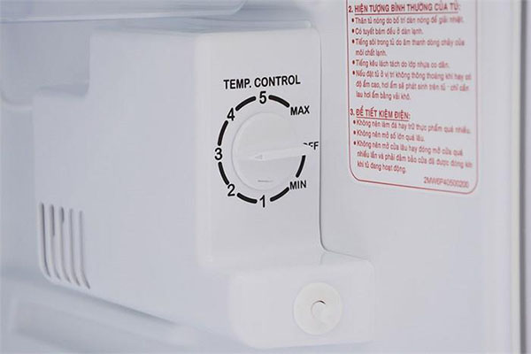 Hướng dẩn chỉnh nhiệt độ trong tủ lạnh