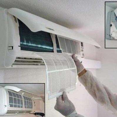 hướng dẩn vệ sinh máy lạnh