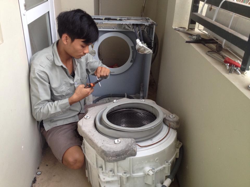 sua máy giặt