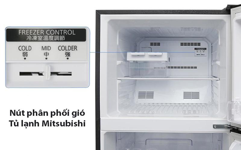 Cách điều chỉnh nhiệt độ tủ lạnh Mitsubishi