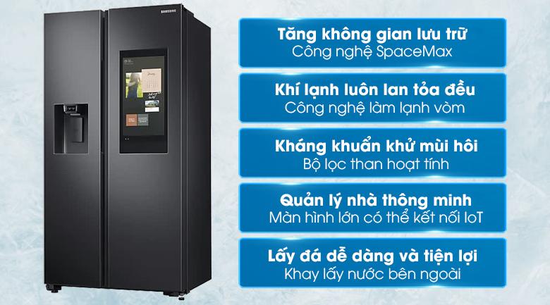 tủ lạnh Samsung Inverter 616 lít